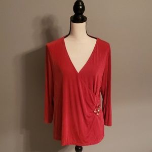 Jaclyn Smith Top Size Large